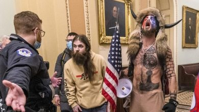 Photo of Some Capitol Rioters Using 'Election Misinformation' as a Defense Argument