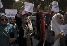 """Photo of Taliban Tells Female Workers, """"Stay Home!"""""""